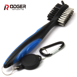 good quality light two side golf brush cool accessories pro cleaning brush