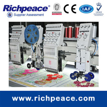 2014 Brand new design mixed taping and cording embroidery machine