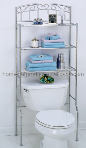 Bathroom Spacesaver Over The Toilet Cabinet Space Saver Storage Shelf Furniture