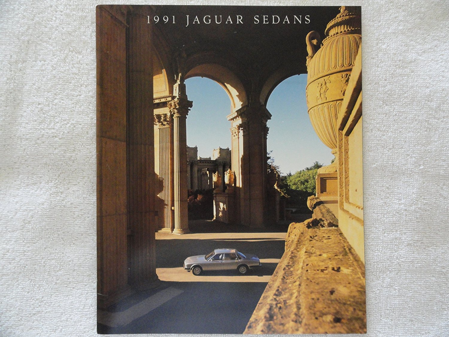 Get Quotations · 1991 JAGUAR SEDANS: XJ-6 / SOVEREIGN / VANDEN PLAS  PRESTIGE COLOR SALES BROCHURE