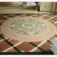Interior decoration mosaic for lobby, hall, kitchen, pub, restaurant, bathroom or bedroom with patterns