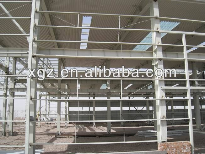 insulated steel frame prefab warehouse business plan