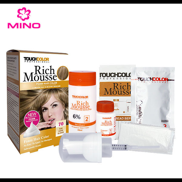 Rich Mousses hair dye hair color hot new products for 2017