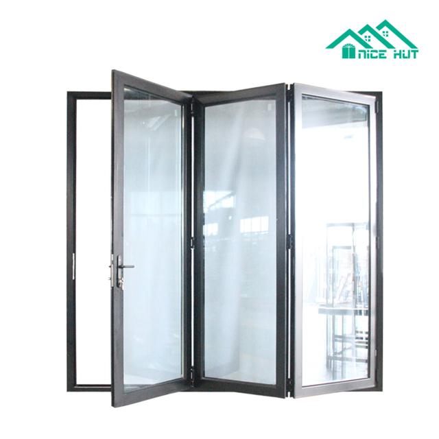 Aluminum Folding Glass Doors Interior For Balcony