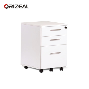 Office Supply Mobile Metal Cabinet Under Table Drawer