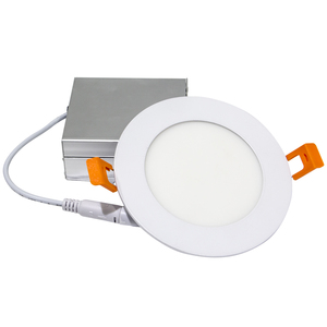 ETL cETL Recessed Mounted Slim Flexible Triac Dimmable Indoor Round 9W 12W 20W Ceiling Led Panel Light Lamp