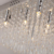 Crystal Ceiling Lighting Chandelier Lamp For Bedroom