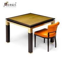 Custom High Quality Classic Wood Dinner Table Classic Wood Dinning Table