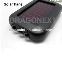 Solar Power Led Rechargeable Flash Light Key Chain