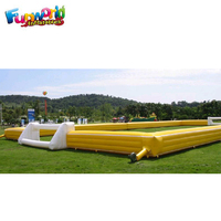 Outdoor inflatable football pitch inflatable soccer field