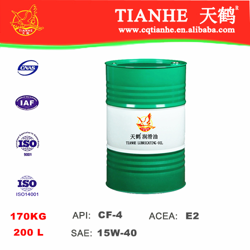 TIANHE CF-4 lubricant oil 15W40 engine oil For Iran