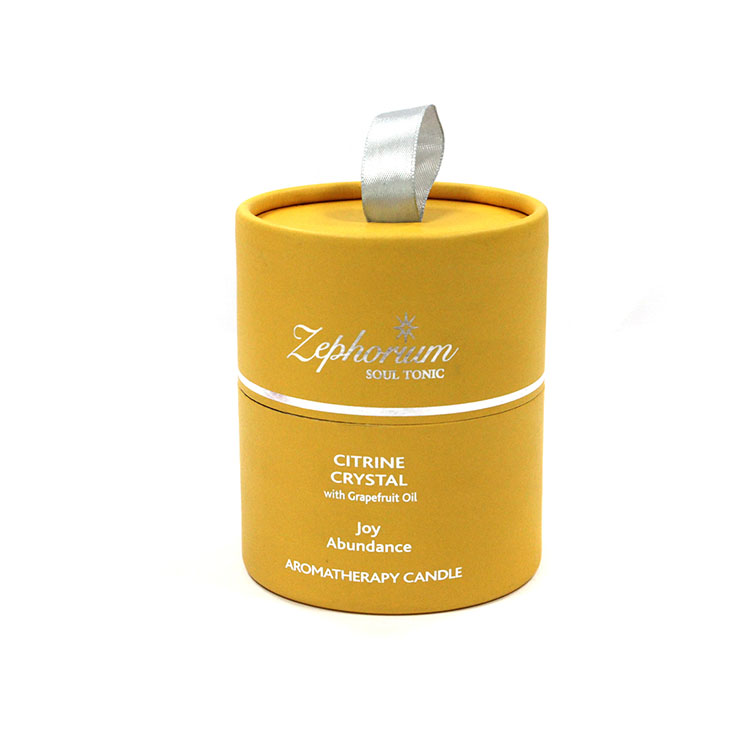 Bien connu Ronde kraft carton cylindre boîtes faire logo impression  PK79