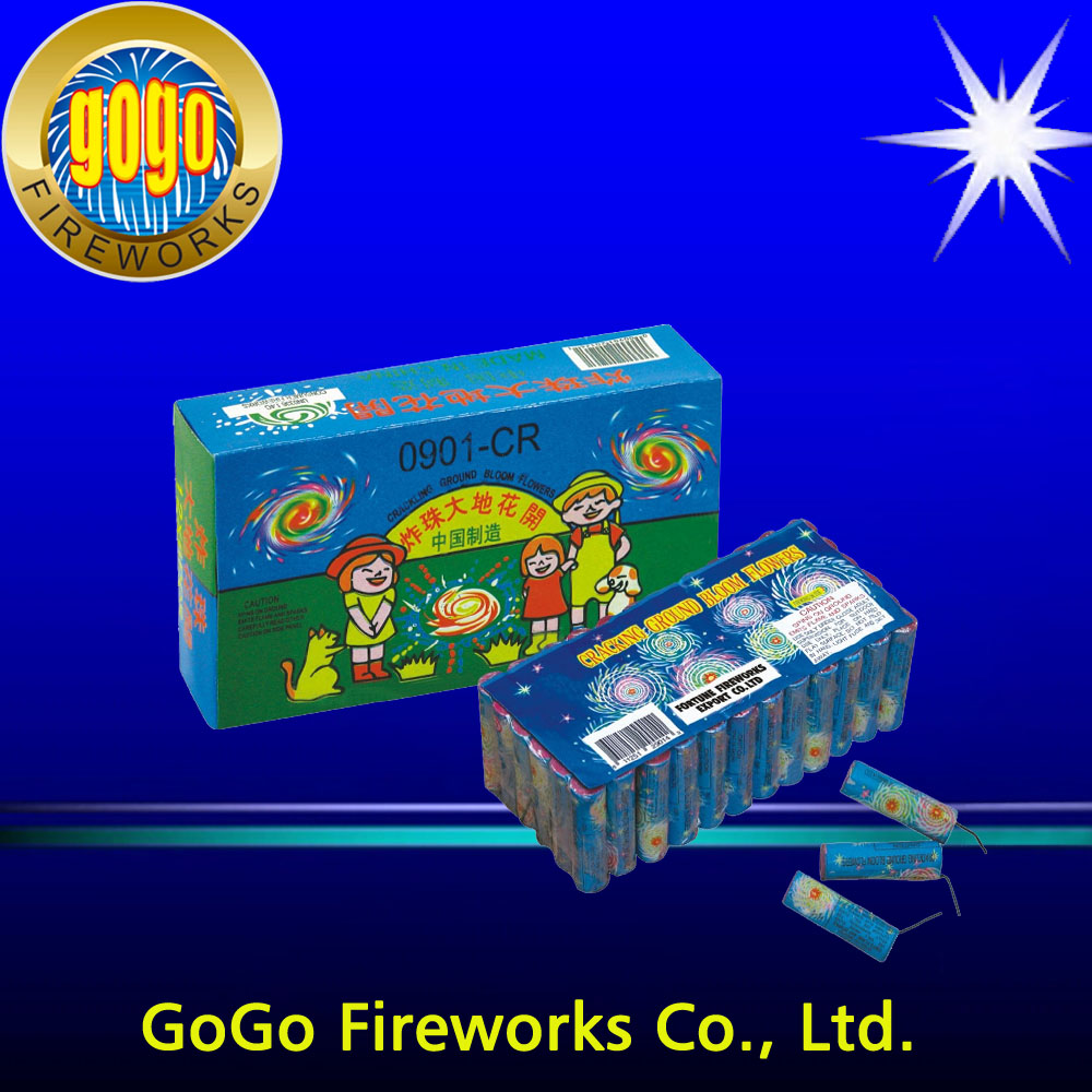 Cracking Ground Bloom Flowers stage fountain fireworks single shot fireworks good lucky fireworks