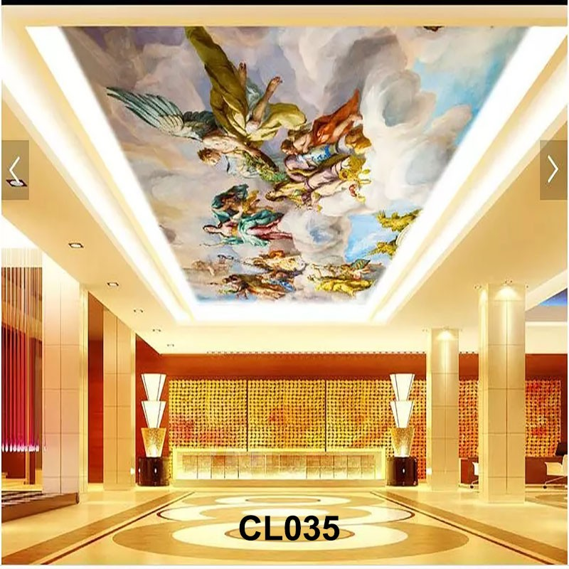 3d high definition cheap ceiling murals wallpapers picture for Cheap 3d wallpaper
