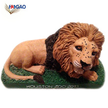 China wholesale products shaking toy animal collectible hand painted lion bobble head