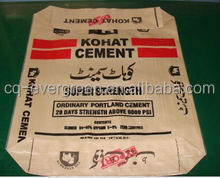 China brown kraft paper bags for cement, chemical material packaging