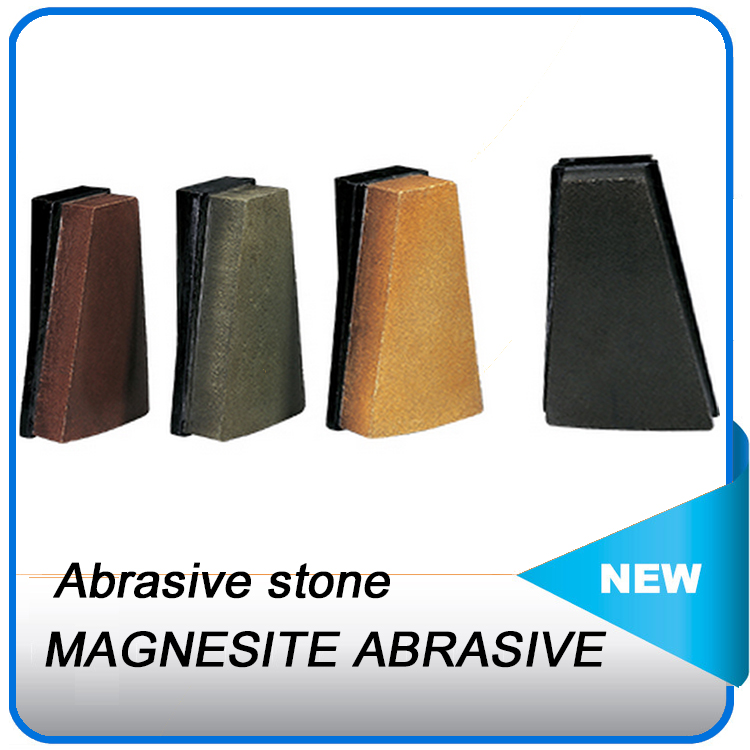Made in China granite polishing block great design abrasive stone magnesite abrasive