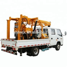 Factory direct price 200m deep truck mounted bore hole water well drill digging machine
