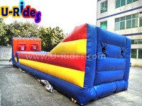 2014 Inflatable bungee run with basketball shoot
