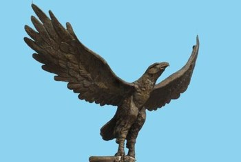 Outdoor Garden Eagle Statues Fountain