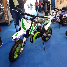 Nieuwe Mode 2-Takt Mini Dirt Bikes Pull Strat <span class=keywords><strong>Gas</strong></span> Mini Motorfiets 50cc
