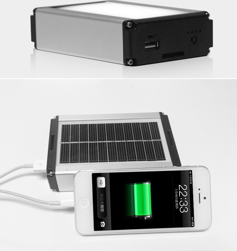 UYLED 10400mAh Power Bank Led Solar Camping Light With USB