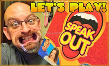 Speak Out Game Best Selling Board Game Interesting Party Game For Christmas Gift