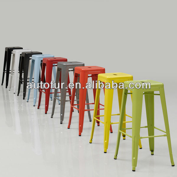 tabouret 30 inch color m tal empilable tabourets de bar. Black Bedroom Furniture Sets. Home Design Ideas