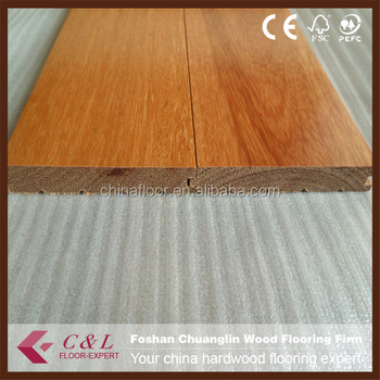 Foshan Low Price Kempas Timber Hardwood Flooring