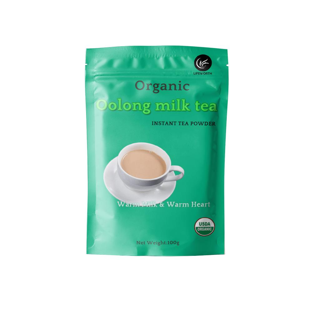 Lifeworth chinese instant milk oolong tea powder - 4uTea   4uTea.com