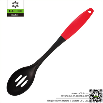 FDA Approval Nylon Slotted Spoon