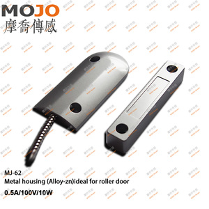 MJ-62 N.O type Roller shutter door or windows magnetic contact switch