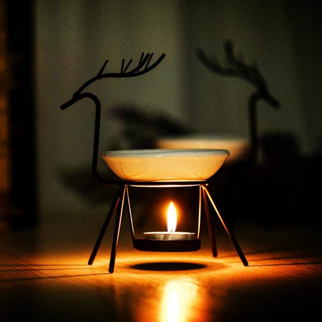 Beauty & Health Reasonable 8 Types Deer Shape Iron Aroma Furna Burner Furnace Candle Aromatherapy Essential Oil Lamp Fragrances & Deodorants