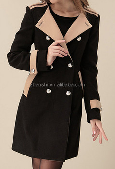 buy popular 3533b bb874 Wholesale Cheap Damen Lange Wolle Kaschmir Trenchcoat - Buy Hochwertige  Damen Wolle Trenchcoat,Damen Lange Trenchcoat Muster,Dame Kaschmir ...