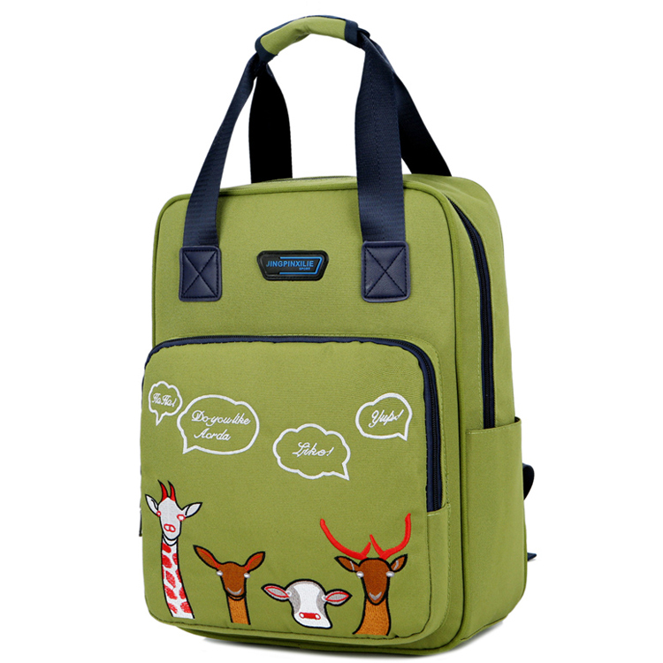 Wholesale hot sale china suppliers 2 ways unisex nylon backpack bag for <strong>school</strong>