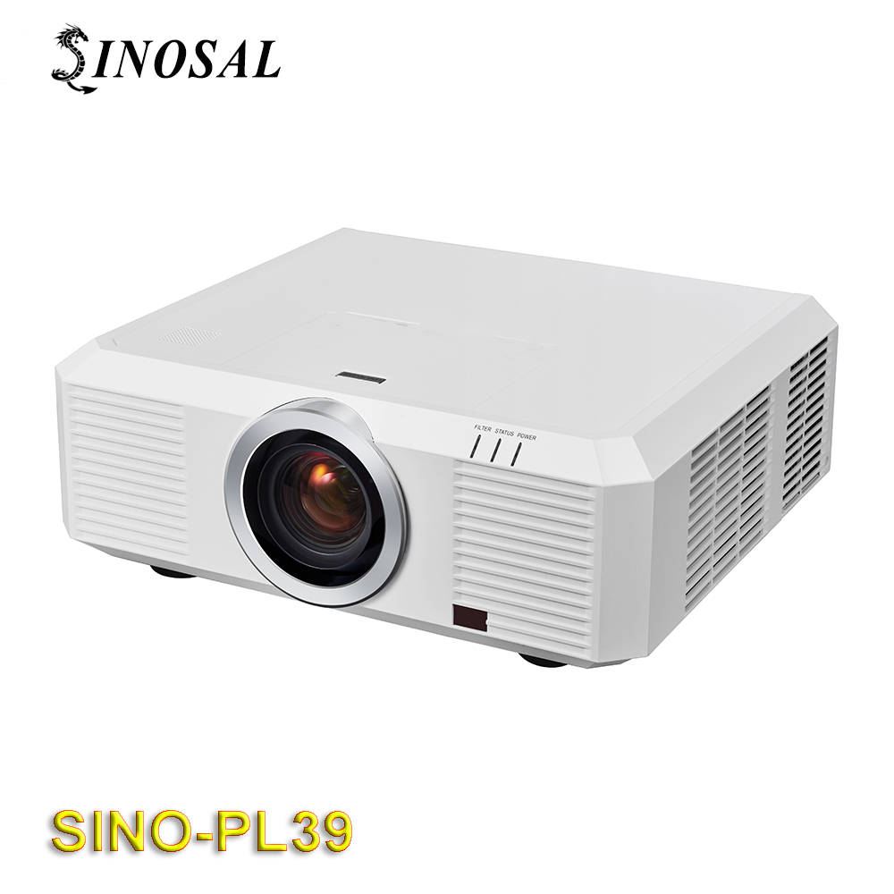 Newest High Brightness large scale outdoor HD 3D video 10000 lumens Projector SINO-PL39