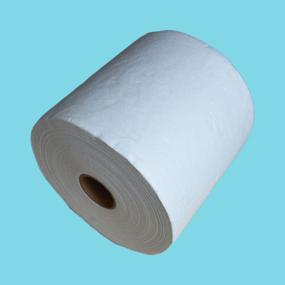 High absorbent jumbo roll hand towel paper