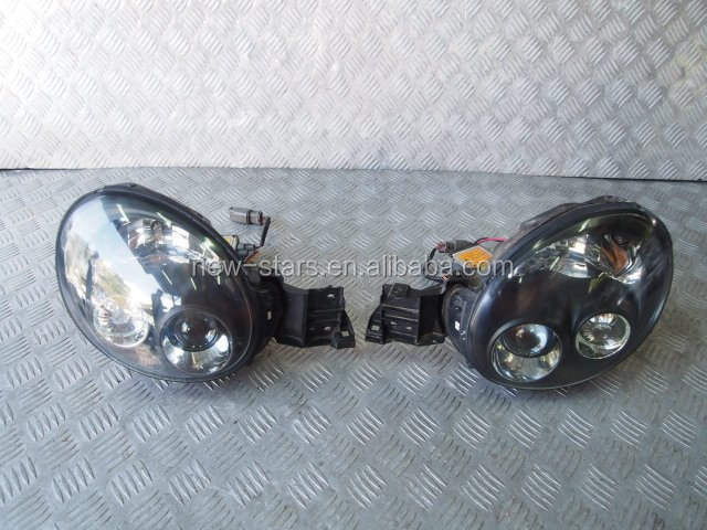 USED JDM HID Xenon Front Headlights OEM for 02-03 Impreza WRX Rev7 GDB GDA GG2 STI