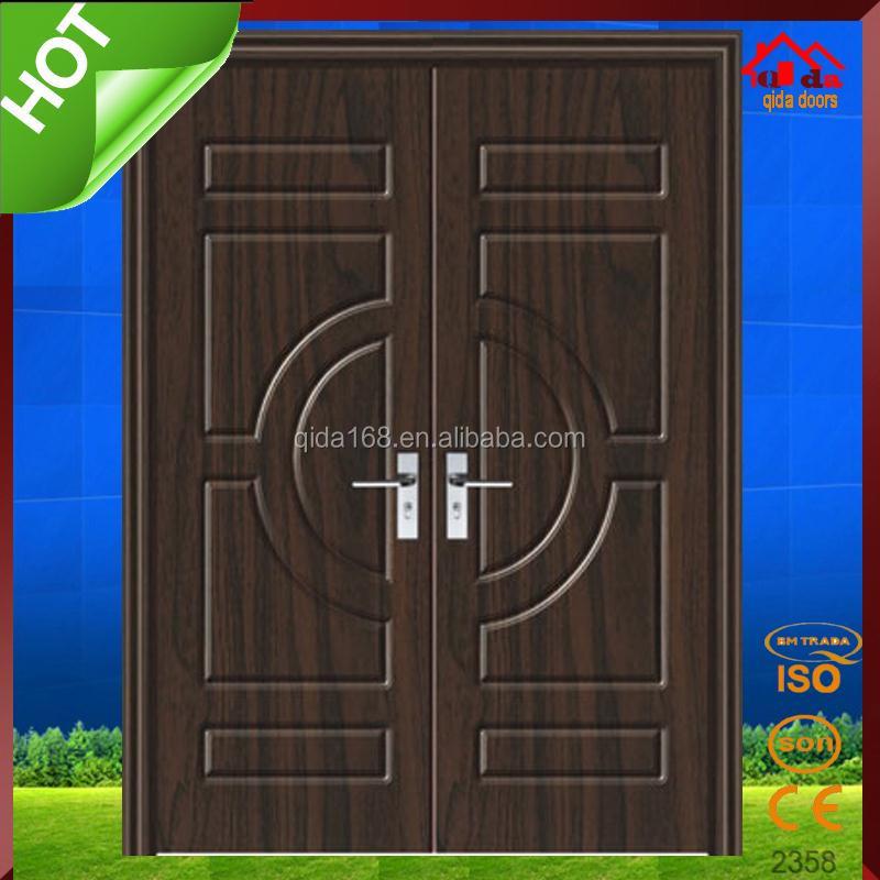 Teak Wood Double Door Design, Teak Wood Double Door Design Suppliers And  Manufacturers At Alibaba.com