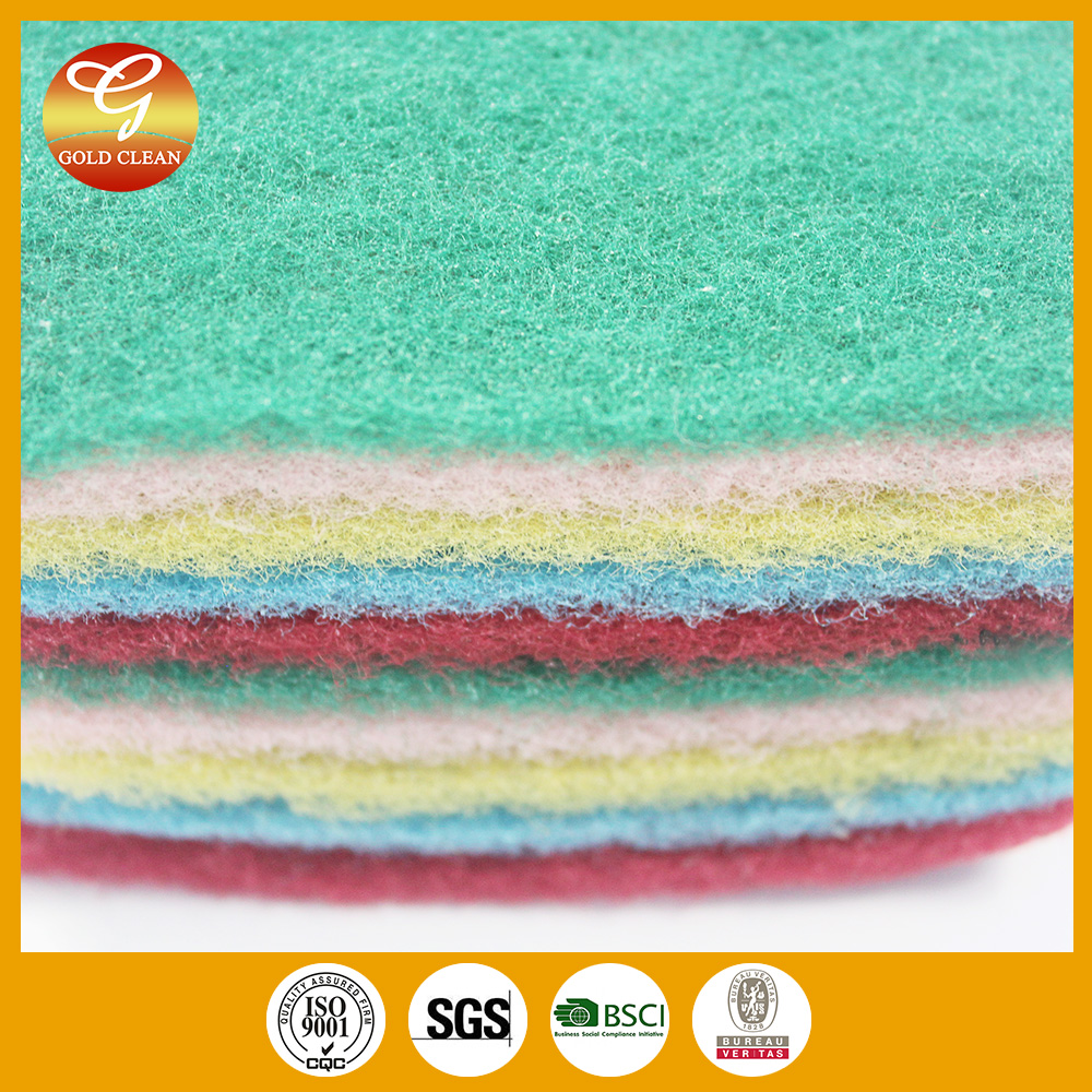 HEAVY DUTY SPONGE CLEANING SUPPLIES CATERING SCOURER SCOURING PAD FOR KITCHEN