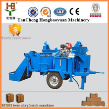 hand operated clay brick making machine M7MI SUPER Interlocking brick machine making for clay raw material