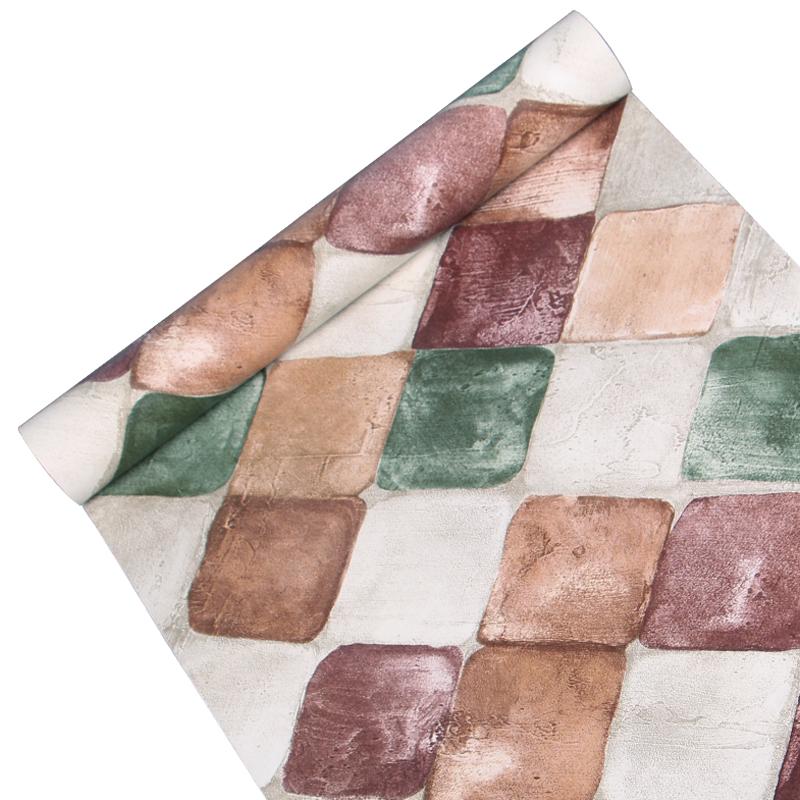 3d 벽돌 스타일 깊은 양각 Pvc 비 짠 벽지 도매 부직포 벽지 홈 장식