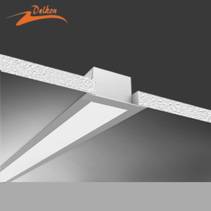 50*35mm Linkable LED Linear Recessed Ceiling Light for Office/Supermarket/School