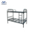 Simple iron mesh double metal bed frame