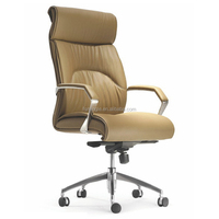 various office furniture design leather cover office chair with locking wheels