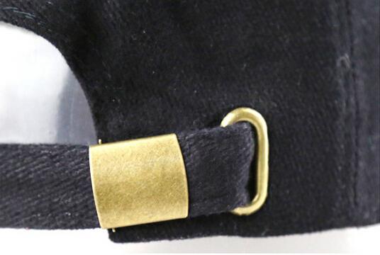 High Quality Cotton Baseball Cap Metal Buckle Golf Mens Caps - Buy ... 9cb30a96357