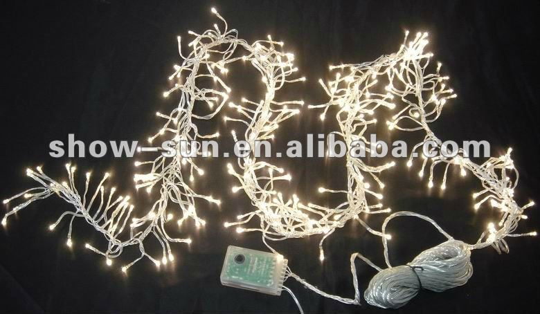 288 Led Cluster Christmas Lights Led 1.7m Warm-white