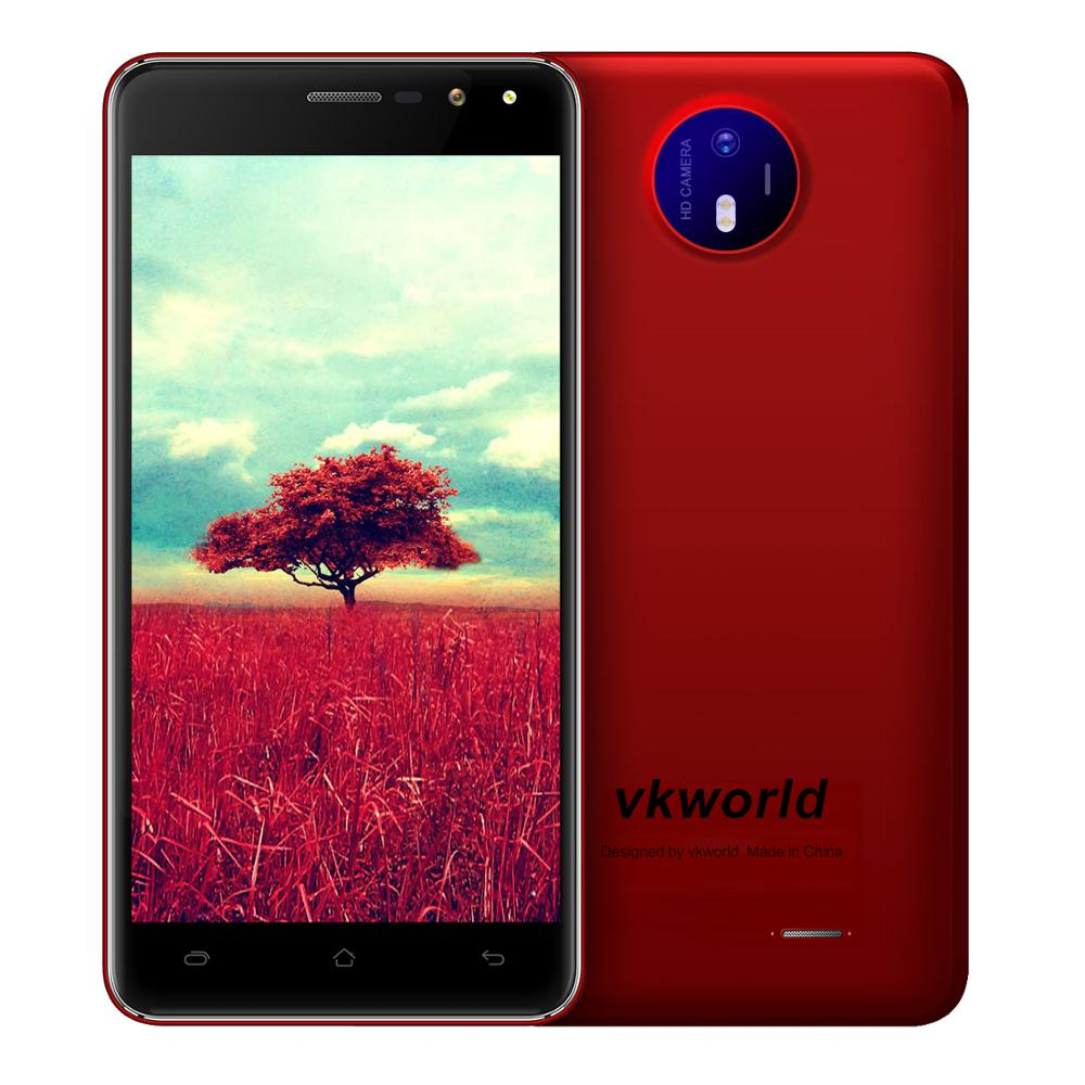 2017 HiFi Digital Video HD 5inch New Mobile Phone Vkworld F2 5MP 8MP Android Smart Cell Phone Mobile 2GB 16GB Auto Focus