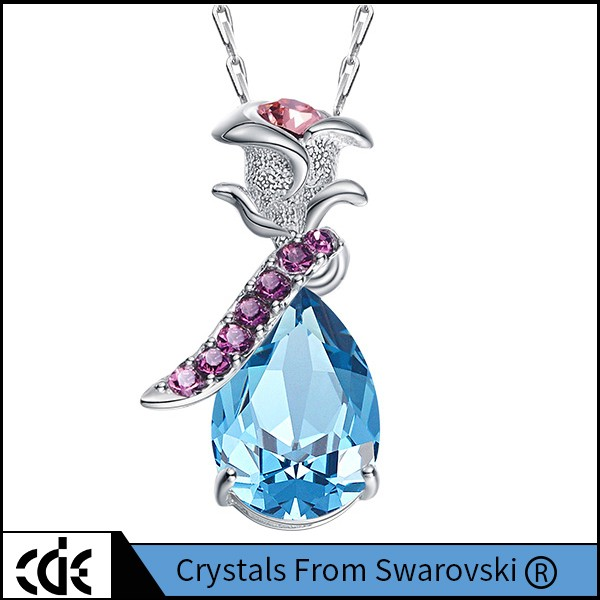 Gift For Her N1084 Fashion Jewelry Heart Necklace With Crystals from Swarovski