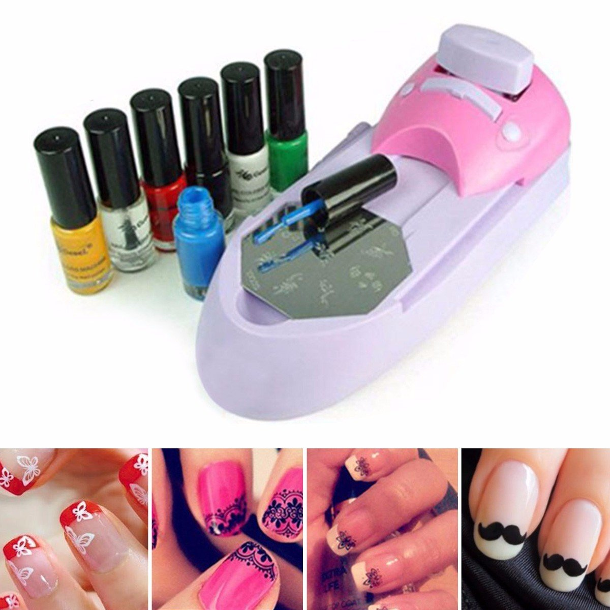 Perfect Nail Design Machine Printer Embellishment - Nail Art Ideas ...